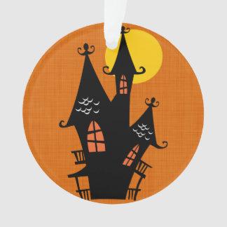 Retro Halloween Haunted House