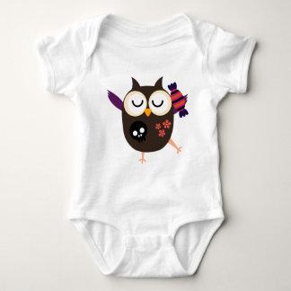 Retro Halloween Owl T-shirt