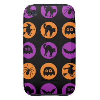 Retro Halloween Party iPhone 3 Tough Covers