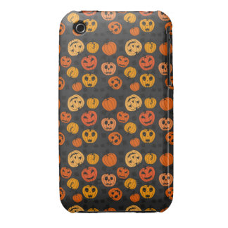 Retro Halloween Party iPhone 3 Case-Mate Cases