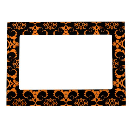 Retro Halloween Party Magnetic Photo Frames