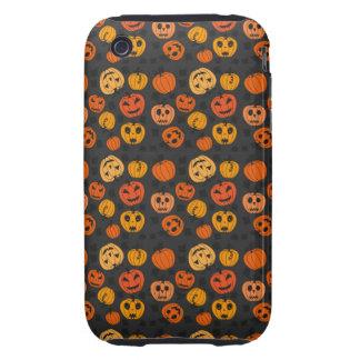 Retro Halloween Party Pumpkins Tough iPhone 3 Cover