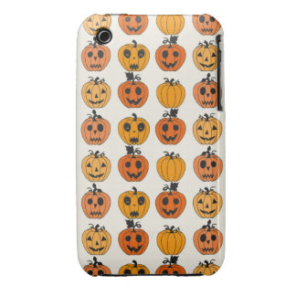 Retro Halloween Party Pumpkins iPhone 3 Case-Mate Case
