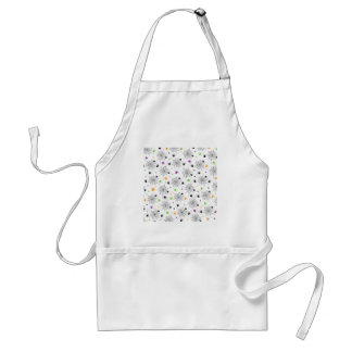 Retro Halloween Party Spider Webs Adult Apron