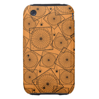 Retro Halloween Party Spiderwebs iPhone 3 Tough Covers
