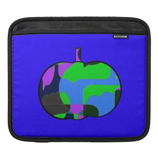 Retro Halloween Pumpkin Abstract Sleeve For iPads