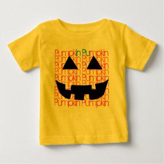 RETRO HALLOWEEN PUMPKIN Jack-o-lantern Trick Treat Baby T-Shirt