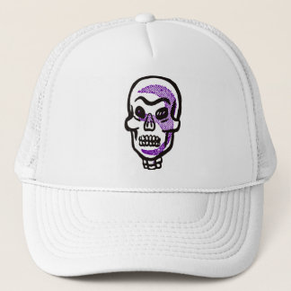 Retro Halloween Skull Cap / Hat