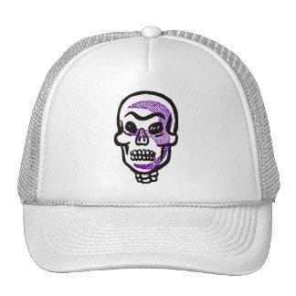 Retro Halloween Skull Cap Hat