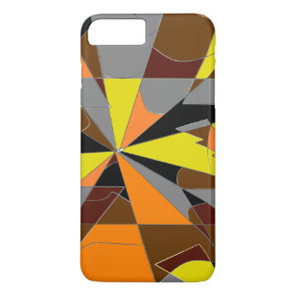 Retro Halloween Themed Abstract iPhone 8 Plus/7 Plus Case