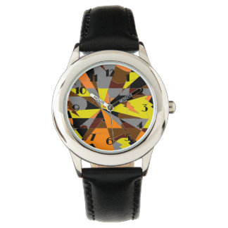 Retro Halloween Themed Abstract Watch