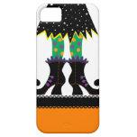 Retro Halloween Witch iPhone 5 Cases