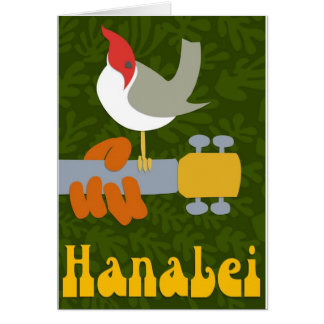 Retro Hanalei Card