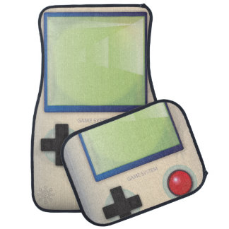 Retro Handheld Video Game Car Floor Mat