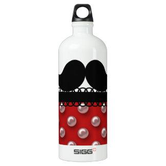 Retro Handlebar Mustache Moustache SIGG Traveler 1.0L Water Bottle