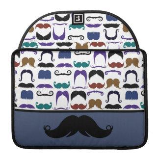 Retro Handlebar Mustache Moustache Stache MacBook Pro Sleeves