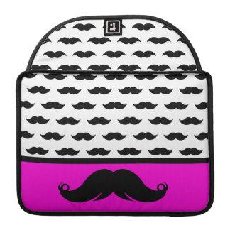 Retro Handlebar Mustache Moustache Stache Sleeves For MacBook Pro
