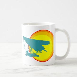 retro hang glider coffee mug