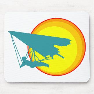 retro hang glider mouse pad