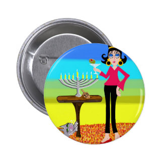 Retro Hanukkah and a Martini Buttons