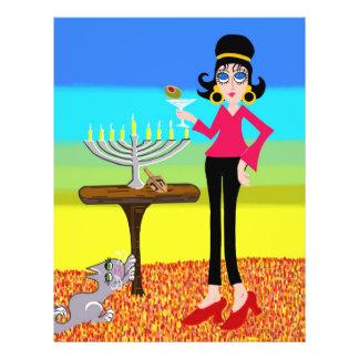 Retro Hanukkah and a Martini Flyer