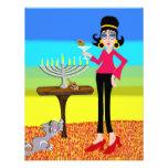 Retro Hanukkah and a Martini Personalized Invitations