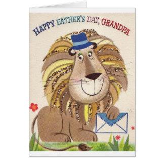 Retro Happy Father's Day Grandpa Card