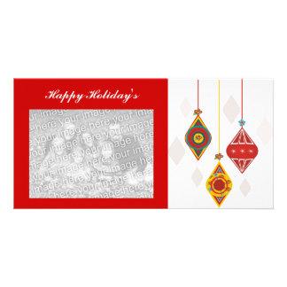 Retro Happy Holiday's Card