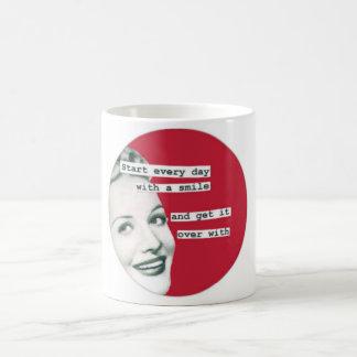 Retro Happy Housewife SMILE Mug