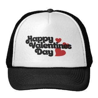 Retro Happy Valentines Day Trucker Hat
