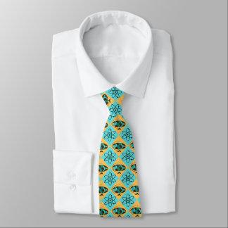 Retro Harlequin Globe Trotter Tie