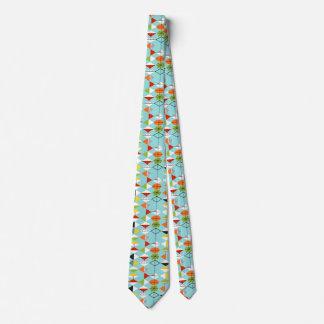 Retro Harlequin Pattern Tie