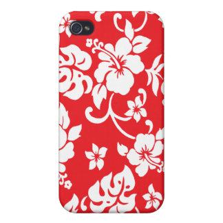 Retro Hawaiian Print Ipod Case