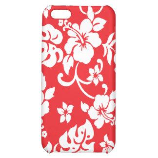 Retro Hawaiian Print Ipod Case iPhone 5C Case