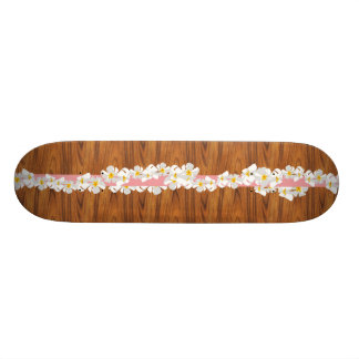 Retro Hawaiian Skateboard
