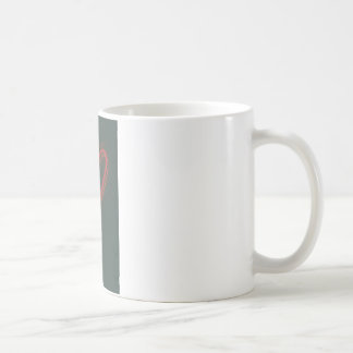 Retro Heart Coffee Mug