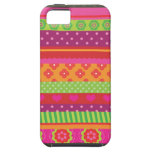 Retro heart flower polka dot design iphone case iPhone 5 case