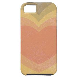 Retro Heart iPhone SE/5/5s Case