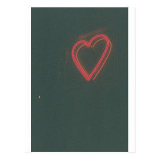 Retro Heart Postcard