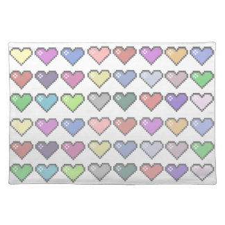 Retro Hearts Placemat