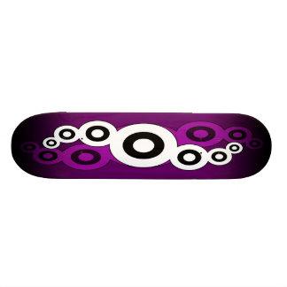 Retro Helix (Purple) Skateboard Deck
