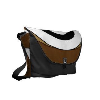 Retro Helix (Tan) Messenger Bag
