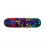Retro Hip Abstract Skateboard