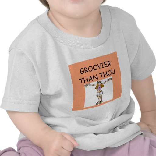 retro hippie chick t-shirts
