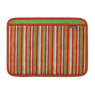 Retro Hipster Funky Striped Sleeve For MacBook Air