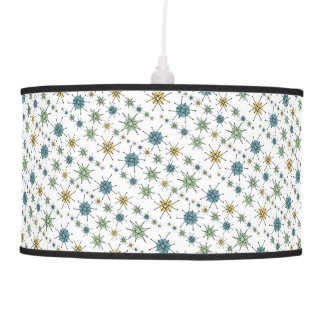 Retro Hipster Geometric Atomic Starburst Hanging Lamp