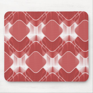 Retro Hipster Mousepad, Red Mouse Pad