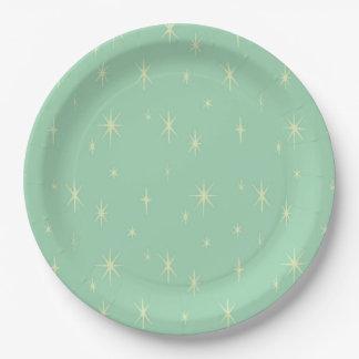 Retro Hipster Space Age Atomic Starburst Paper Plate  sc 1 st  Zazzle & Danish Plates | Zazzle