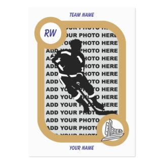 Retro Hockey Card Business Card Templates