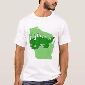 Retro Hodag Over Wisconsin T-Shirt